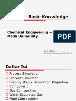 Teknik Kimia UGM - Hysys Basic Knowledge