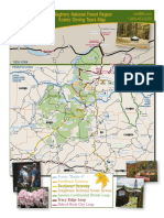 Scenic Driving Tours Map to view Fall Foliage