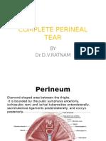 Perineal Tears