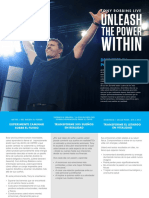Unleash the Power Within-brochure-spanish