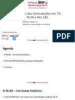 O Futuro Das Contratacoes de TIC IN4