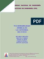 Vulnerabilidad sismica de la catedral del cusco.pdf