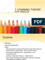 Distance Learning Theory