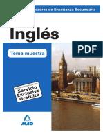 Tema 2 oposiciones profe inglés