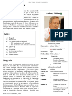 Anthony Giddens - Wikipedia, La Enciclopedia Libre