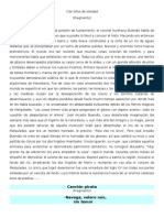 Cien Años de Soledad Poratador de PAES