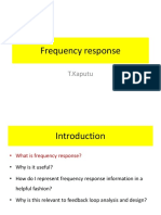 1 Frequency Response