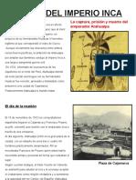 La Muerte de Atahualpa