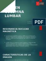 Rnm en Columna Lumbar