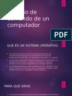 Proceso de Comando de Un Computador
