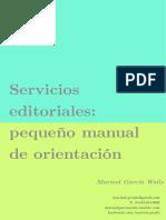 Manual de Servicios Editoriales MGW
