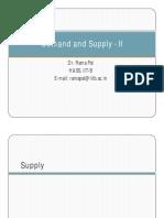 3_Demand and Supply - II