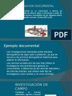 Documental y de Campo