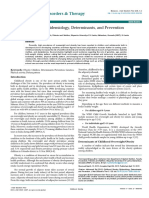 Childhood Obesity Epidemiology Determinants and Prevention 2161 0509 1000156 Vanessa