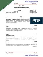 Ece v Microwaves and Radar [10ec54] Notes