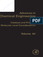 44. Catalysis and Kinetics Molecular Level Considerations (2014)