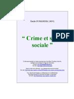 DURKHEIM É. Crime et santé sociale.pdf