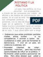 EL CRISTIANO Y LA POLITICA  9-13.ppt.pps