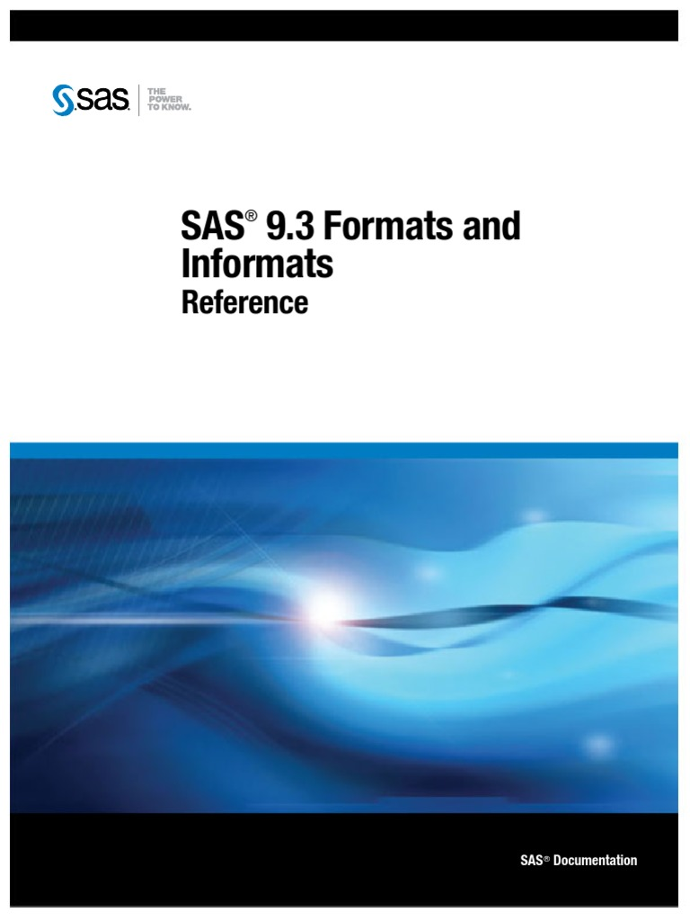 SAS Formats and Informats   Binary Coded Decimal   Byte