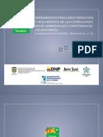 Herramientas Para Caracterizacion y Seguimiento de Las Condiciones Socio Ambientales y Sanitarias de Los Entornos Estrategia de Entornos Saludables Documento 06-07-16 (1)