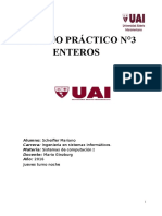Sistemas de Computación - TP3 - Enteros - Mariano Scheifler