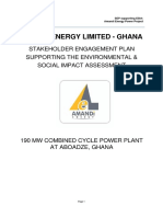 Stakeholder Engagement Plan Amandi Energy Independent Power Plant May 2015
