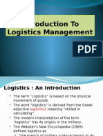L8 Logistics Management