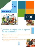 Presentación Manejo Higienico de Alimentos 2 Brenda Huesca