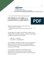 150 Adjetivos en ingles lista - Ejemplos de adjetivos comparativos _ Open English.pdf