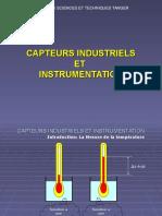 Capteurs Industriels Et Instrumentation (1) - Copie