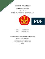 Acara 1 Praktikum Paleontologi Fixx