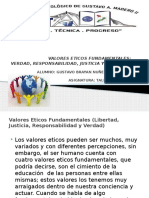 VALORES ETICOS FUNDAMENTALES