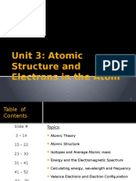 unit 3 atomic structure and electrons in the atom ppt