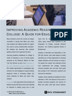 Improving Academic Readiness for College