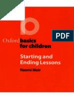 Oxford Basics for Children - Starting and Ending Lessons.pdf