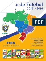 EDF Regras CBF Arbitragem 2015-2016
