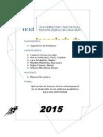 Proyecto Metodologia FDD