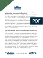50 Samples of English Paragraph Writing