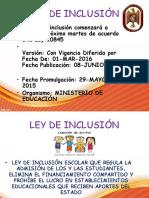 Ley de Inclusion
