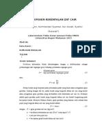 Laporan Unit 9 - Koefisien Kekentalan Zat Cair
