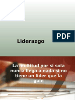 Definiciones de Liderazgo