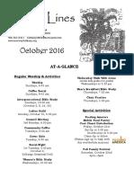 Bethany October Newsletter