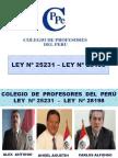 5 Opinión Del Colegio de Profesores Del Peru