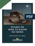 Diario de Seek to Know No More