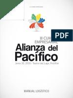 Manual Logistico III Cumbre Empresarial AP 2016