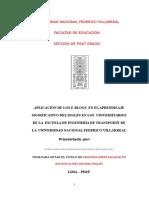 Tesis de La Villareal (Modelo)