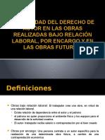 TITULARIDAD DEL DERECHO DE AUTOR