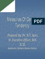 CPT - Maths - Central Tendancy