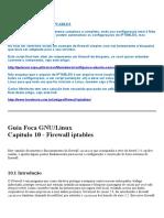 06 - IPTABLES - Roteamento e Firewall