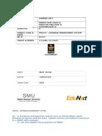 Mi0034 – Database Management System